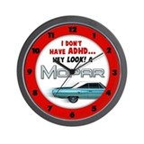 ADHD Mopar Wall Clock