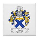 Sforza Coat of Arms Tile Coaster