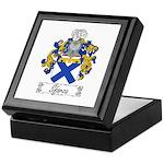 Sforza Coat of Arms Keepsake Box