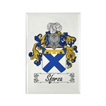 Sforza Coat of Arms Rectangle Magnet
