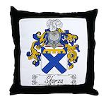 Sforza Coat of Arms Throw Pillow