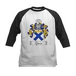 Sforza Coat of Arms Kids Baseball Jersey