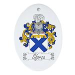 Sforza Coat of Arms Oval Ornament