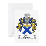 Sforza Coat of Arms Greeting Cards (Pk of 10)