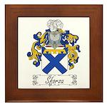 Sforza Coat of Arms Framed Tile