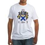 Sforza Coat of Arms Fitted T-Shirt