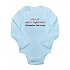 Hillary's Nightmare 2 Long Sleeve Infant Bodysuit