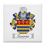Severino Family Crest Tile Coaster