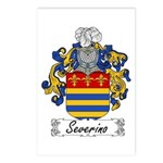 Severino Family Crest Postcards (Package of 8)
