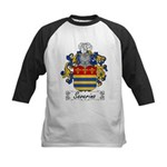 Severino Family Crest Kids Baseball Jersey