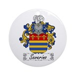 Severino Family Crest Ornament (Round)