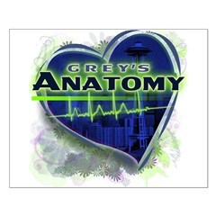 Grey's Anatomy TV Fan Small Poster