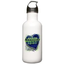 Grey's Anatomy TV Fan Stainless Water Bottle 1.0L
