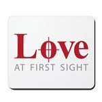 Love at first sight Mousepad