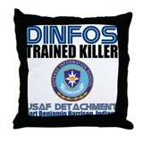 DINFOS Air Force Throw Pillow