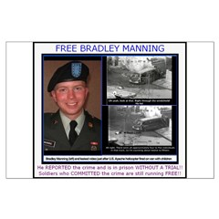 FREE Bradley Manning Posters