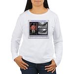FREE Bradley Manning Women's Long Sleeve T-Shirt