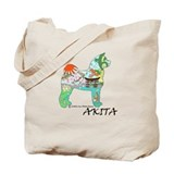 Akita National Treasure Tote Bag
