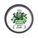 Scotto Coat of Arms Wall Clock