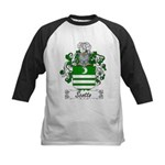 Scotto Coat of Arms Kids Baseball Jersey