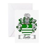 Scotto Coat of Arms Greeting Cards (Pk of 10)