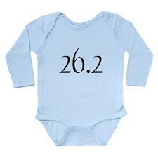 26.2 Marathon Long Sleeve Infant Bodysuit
