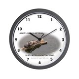 Krazy Irish Honest Turtle Wall Clock