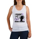 Fought Like A Girl Hodgkin's Lymphoma Women's Tank