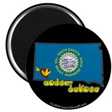 "ILY South Dakota 2.25"" Magnet (100 pack)"