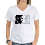 Obama - Hope Over Fear - Grey Shirt