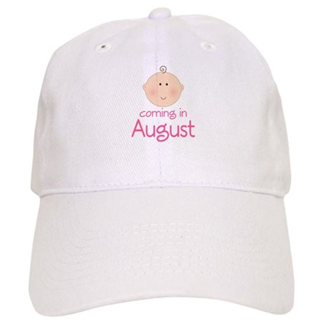 Coming In August Announcement Cap