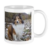 Sable Sheltie Hiker Small Mug