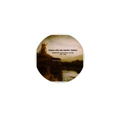 Rembrandt Painting & Quote Mini Button (100 pack)
