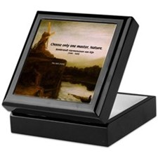 Rembrandt Painting & Quote Keepsake Box