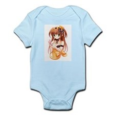 Sexy Anime Girl Infant Bodysuit