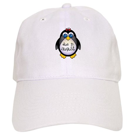 Cute Penguin August Baby Cap