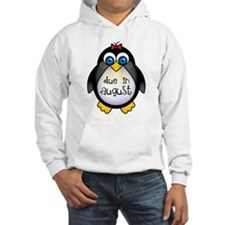 Cute Penguin August Baby Hoodie