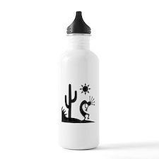 Silhouette Kokopelli Water Bottle