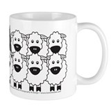 Bouvier and Sheep Mug