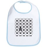 Bouvier and Sheep Bib
