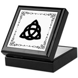 Celtic Triad Valentine Keepsake Box
