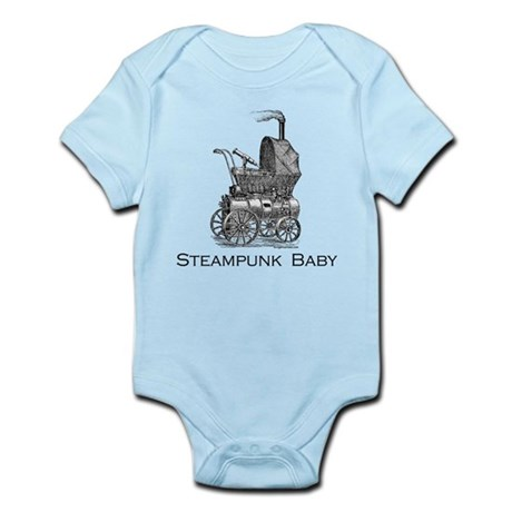 Steampunk baby Infant Bodysuit