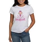 August Maternity Stick Girl Women's T-Shirt