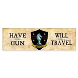 Have Gun Car Sticker