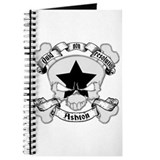 Ashton Family Crest Skull Journal