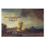 Rembrandt: on God & Painting Large Poster
