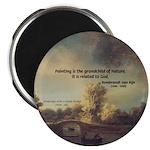 Rembrandt: on God & Painting Magnet