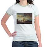 Rembrandt: on God & Painting Jr. Ringer T-Shirt