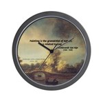Rembrandt: on God & Painting Wall Clock