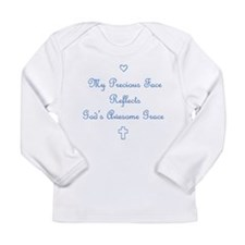 My Precious Face Long Sleeve Infant T-Shirt